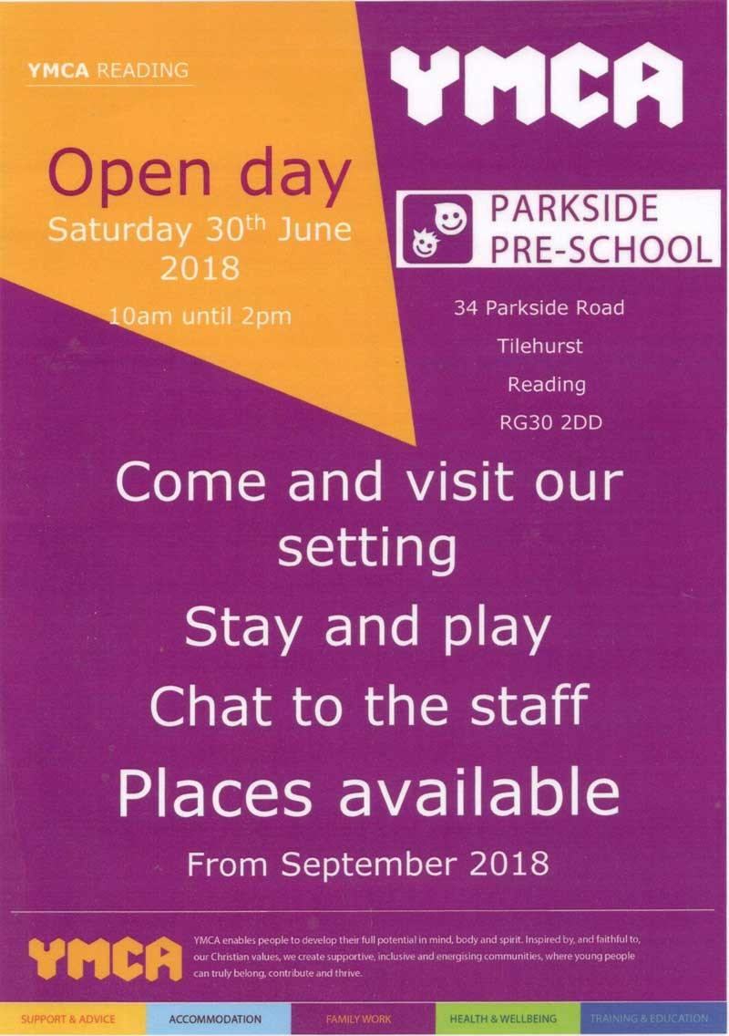 Open Day - 30th June 2018