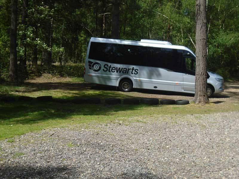 Stewart's Coach in Padworth