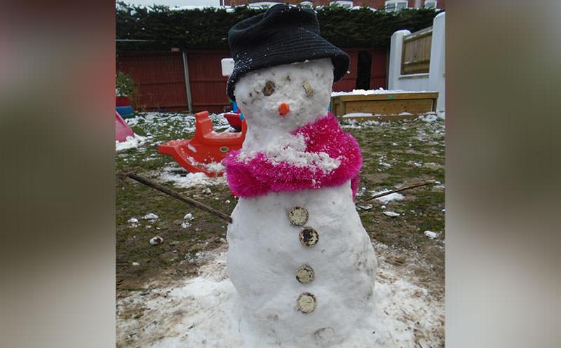 Fun in the Snow: Meet Keelan