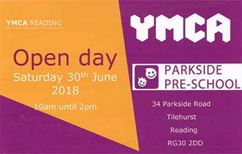 Parkside Pre-School Open Day - June 2018